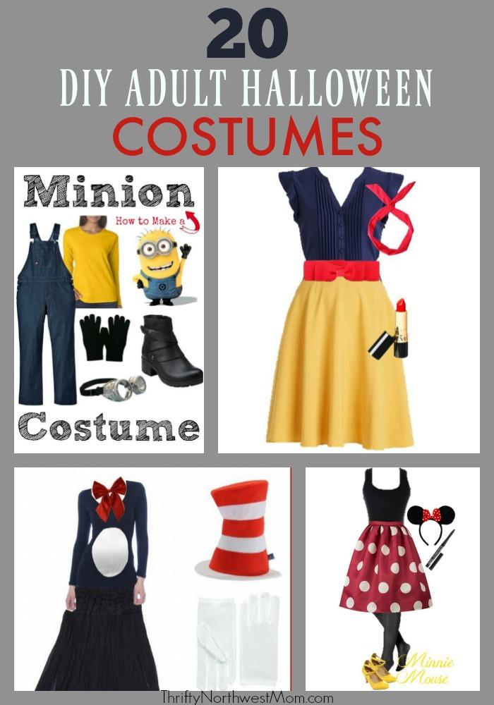 Creative DIY Halloween Costumes For Adults  DIY Adult Halloween Costumes