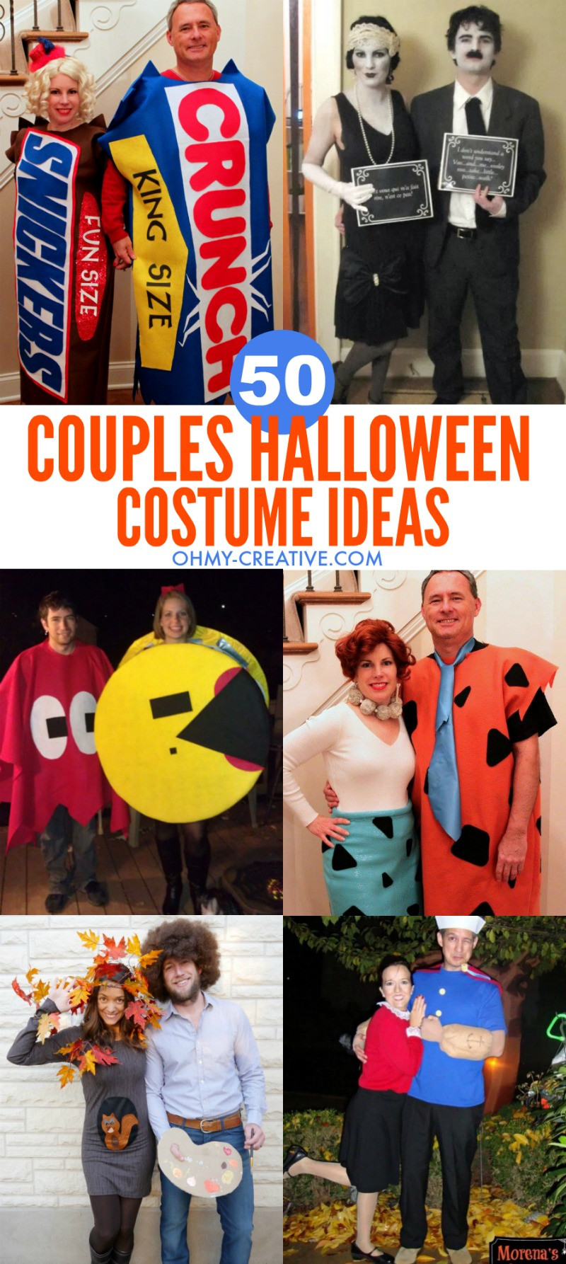 Creative DIY Halloween Costumes For Adults  50 Couples Halloween Costume Ideas Oh My Creative