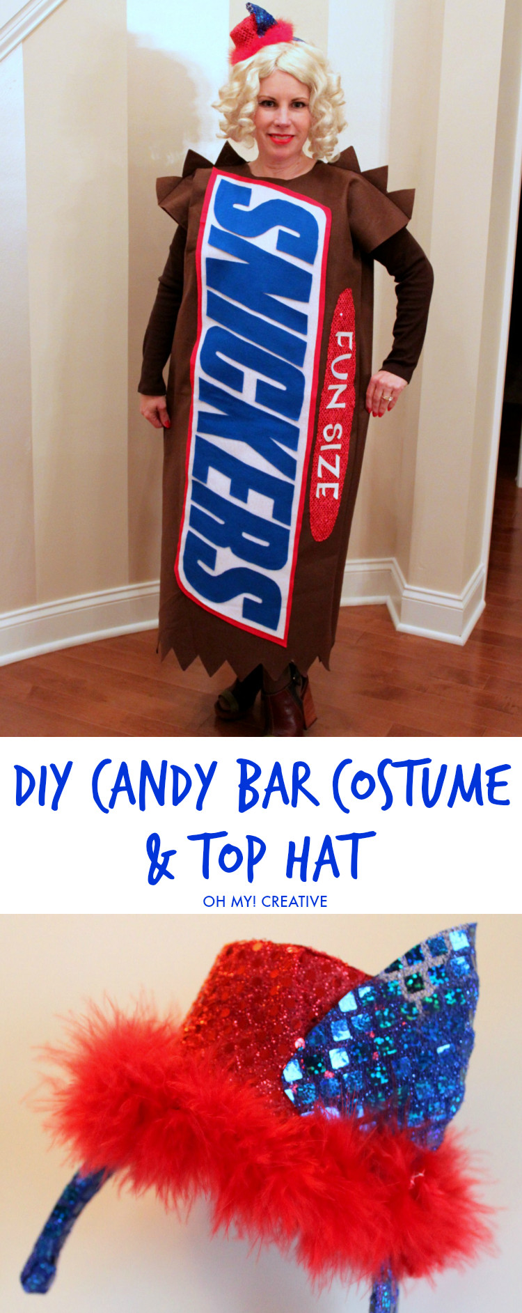 Creative DIY Halloween Costumes For Adults  DIY Candy Bar Halloween Costumes Oh My Creative