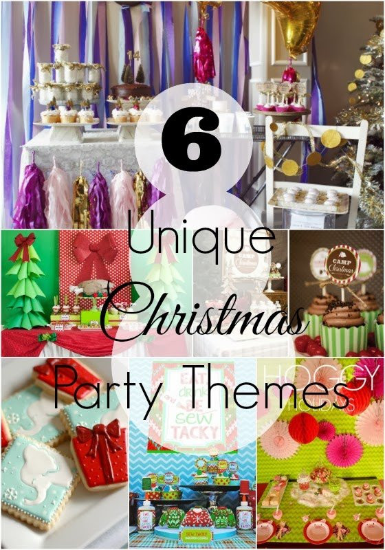 Creative Holiday Party Ideas  Unique Christmas Party Themes Revel and Glitter