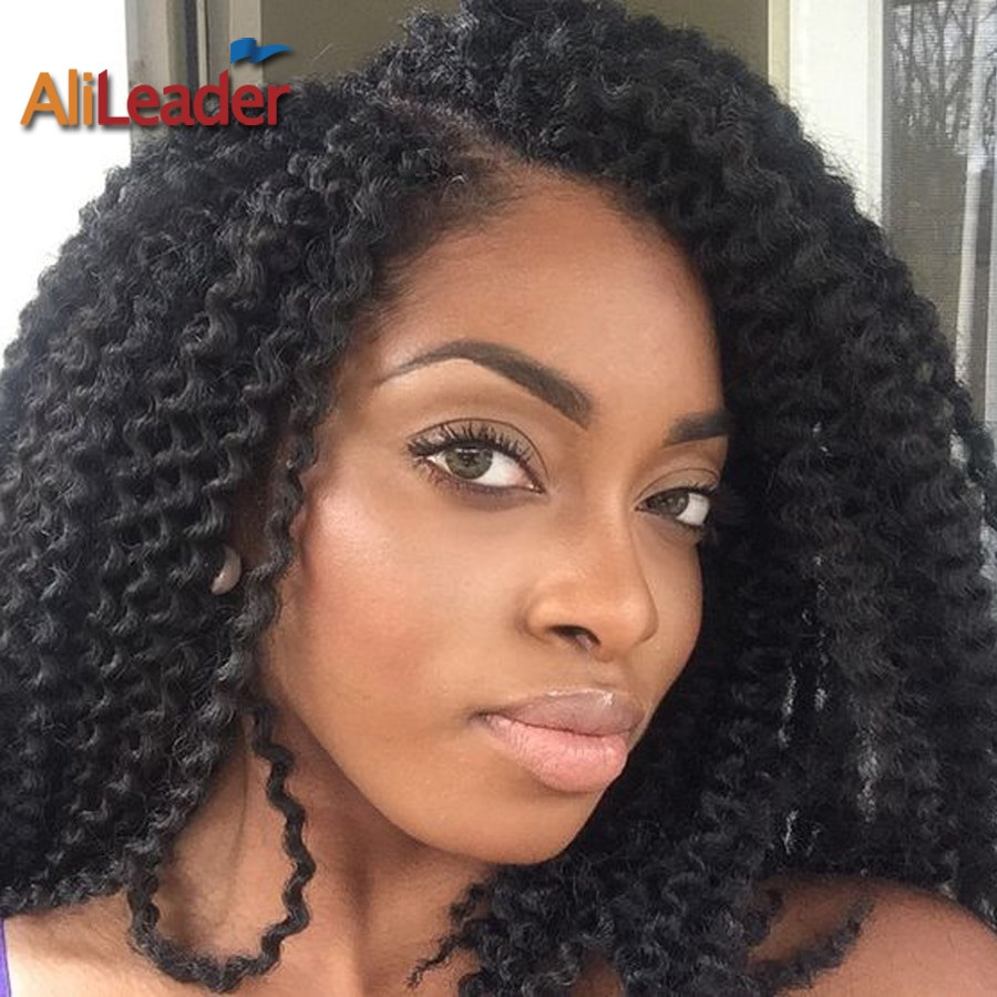 Crochet Curly Hairstyles  22Inch Curly Crochet Hair Pure 6 Colors 24Root Synthetic