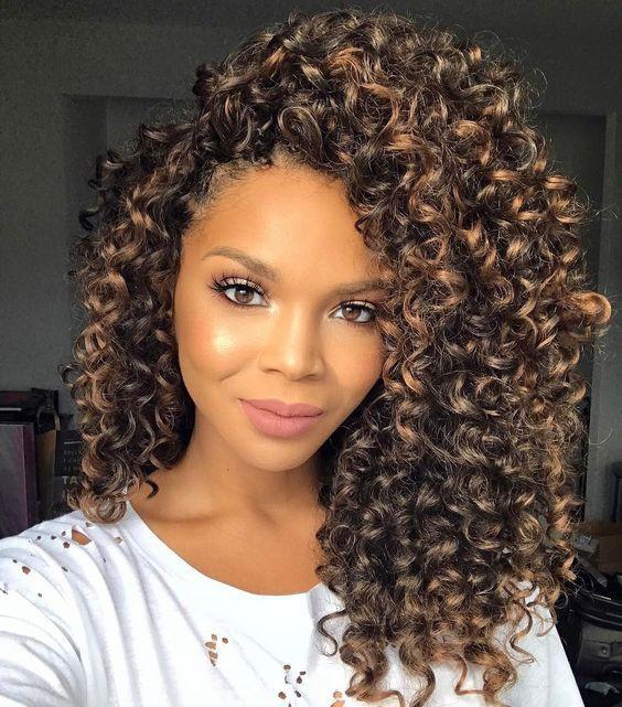 Crochet Curly Hairstyles  Best Hair For Crochet Braids