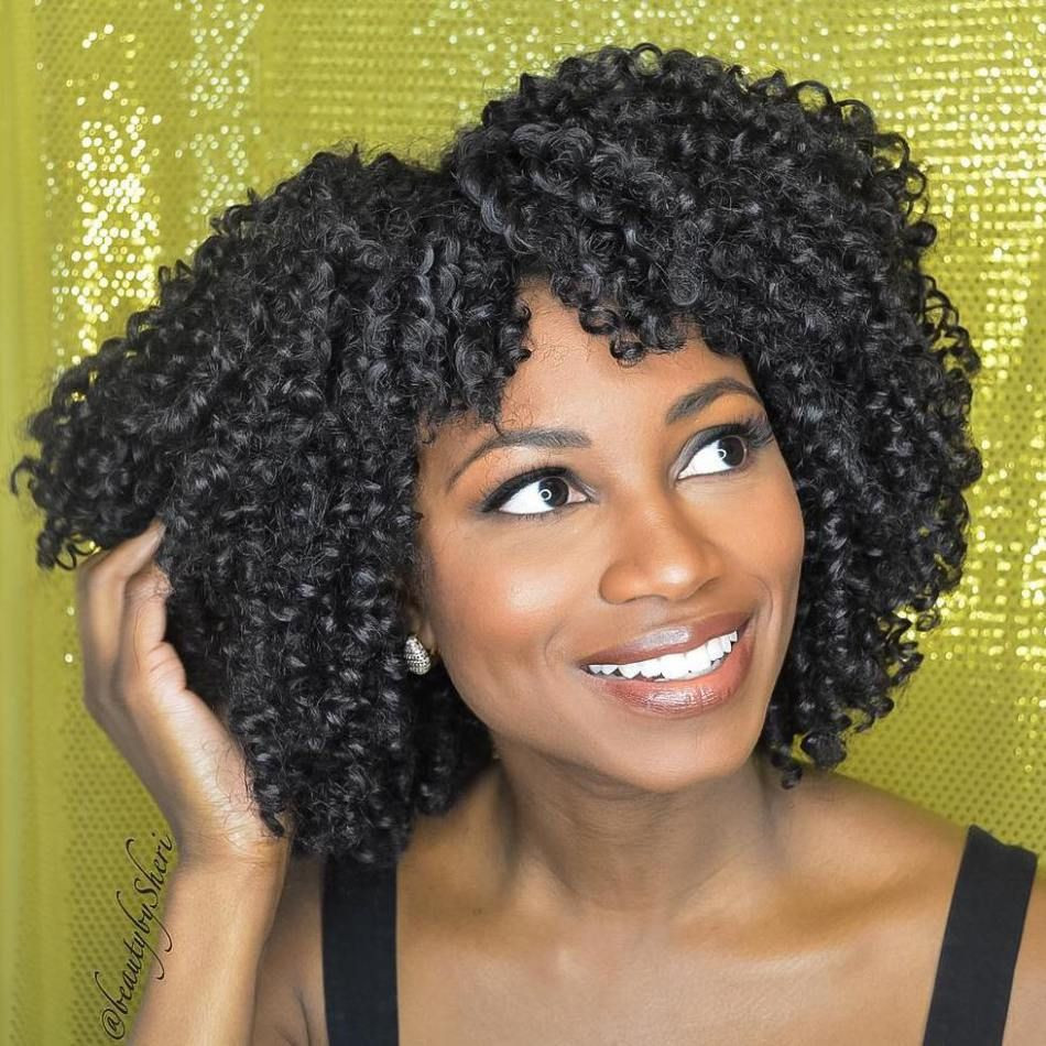 Crochet Hairstyles With Bangs  40 Crochet Braids Hairstyles for Your Inspiration