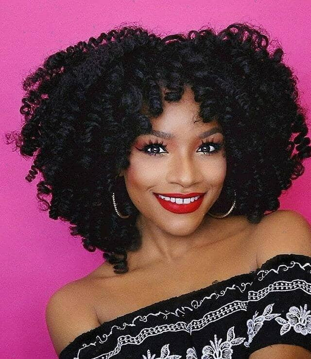 Crochet Hairstyles With Bangs  50 Stunning Crochet Braids to Style Your Hair for 2020