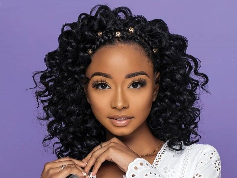 Crochet Hairstyles With Bangs  51 Stunning Crochet Braids You can t Miss 2020 Trends