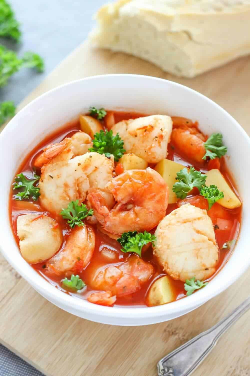 Crock Pot Fish Stew  4 Simple Slow Cooker Seafood Meals Dish on Fish