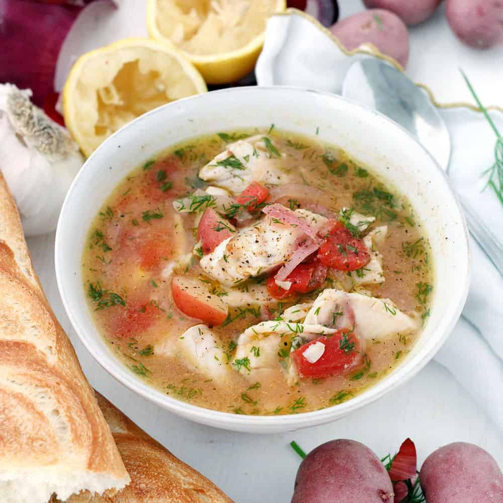Crock Pot Fish Stew  21 Pescatarian Crock Pot Recipes Your Whole Family Will Enjoy