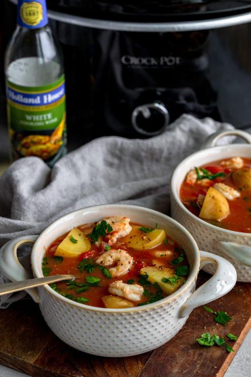Crock Pot Fish Stew  Crock Pot Seafood Stew Dash of Mandi