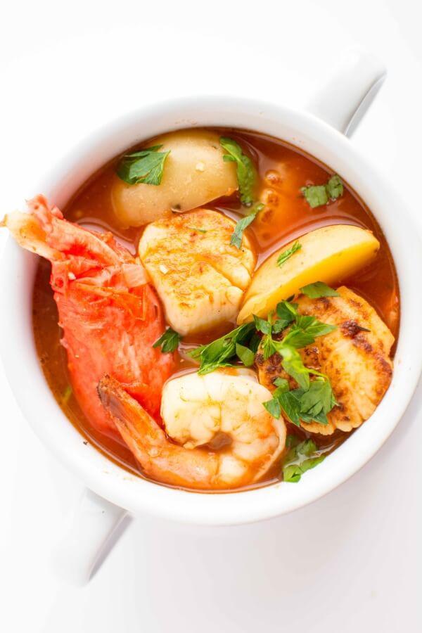 Crock Pot Fish Stew  Crockpot Seafood Stew