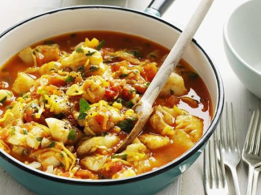 Crock Pot Fish Stew  Slow cooker Fish Stew Recipe in 2020