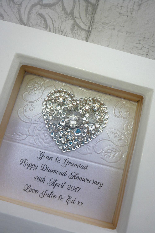 Crystal Anniversary Gift Ideas  60th anniversary t 15th wedding anniversary t Crystal