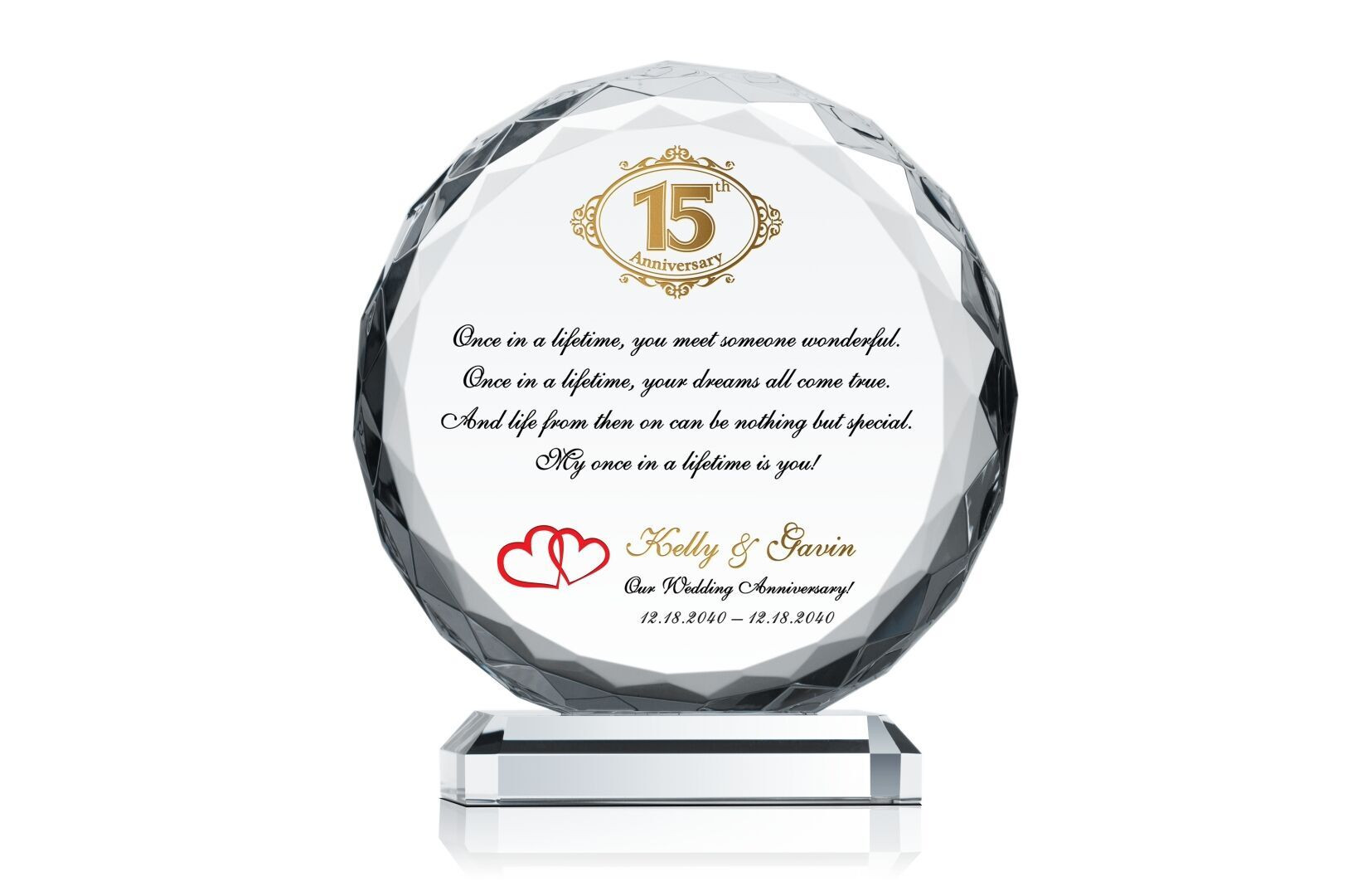 Crystal Anniversary Gift Ideas  Crystal Anniversary Gift Crystal Central