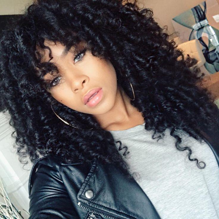 Curly Crochet Braid Hairstyles  Best 25 Crochet braids ideas on Pinterest