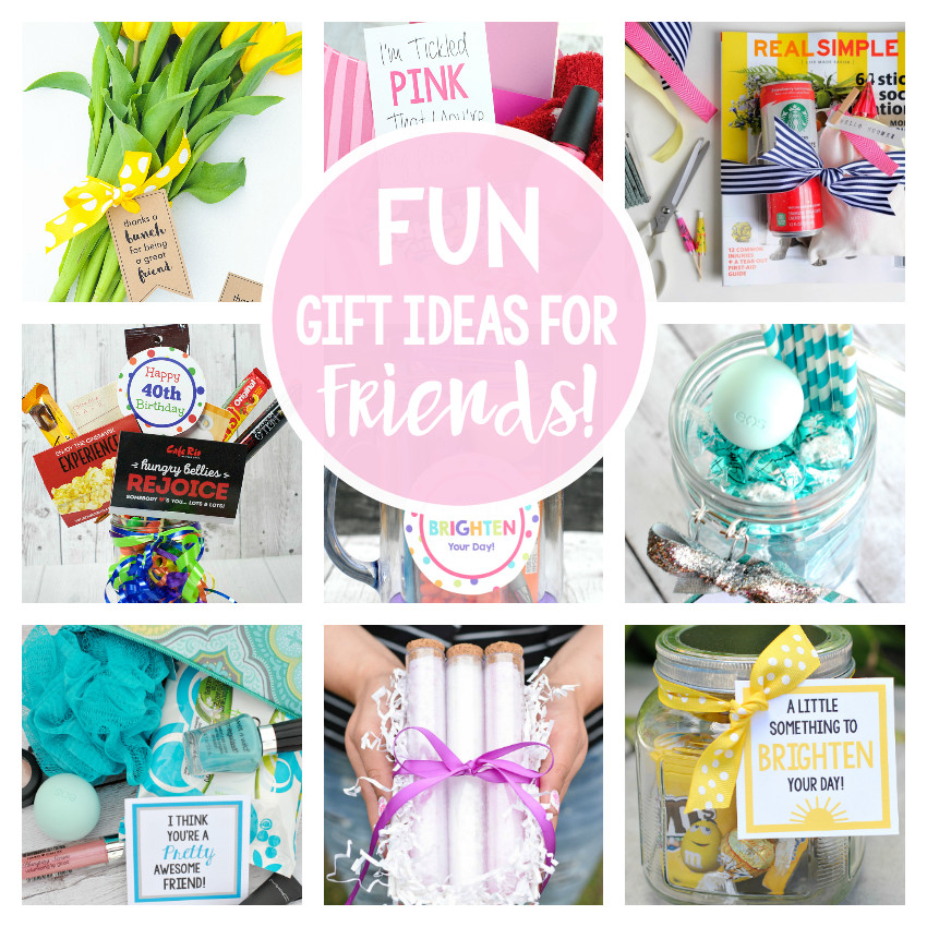 Cute Birthday Gift Ideas For Best Friend  25 Fun Gifts for Best Friends for Any Occasion – Fun Squared