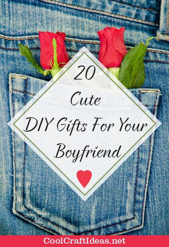 Cute DIY Gifts For Boyfriend  20 Cute DIY Gifts For Your Boyfriend