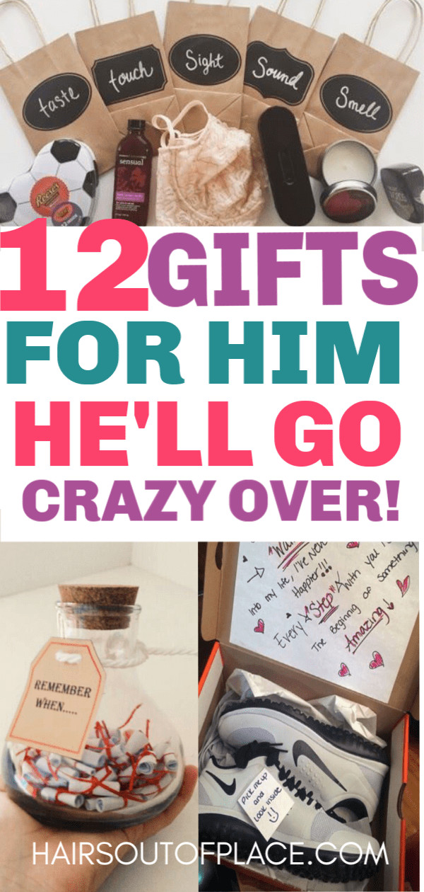 Cute DIY Gifts For Boyfriend  12 Cute Valentines Day Gifts for Him