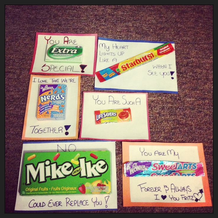 Cute DIY Gifts For Boyfriend  Amazing Ideas Gift Ideas For Your Boyfriend My Favorites