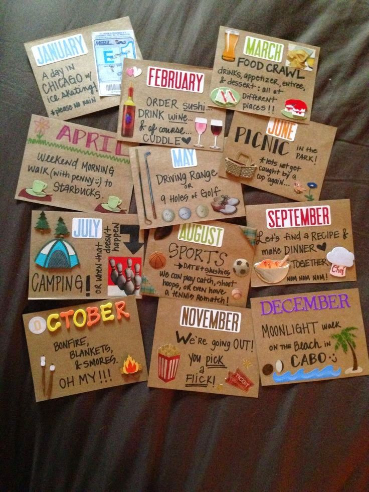 Cute DIY Gifts For Boyfriend  Becky and Brittany DIY Valentines Day Gift Ideas for Him