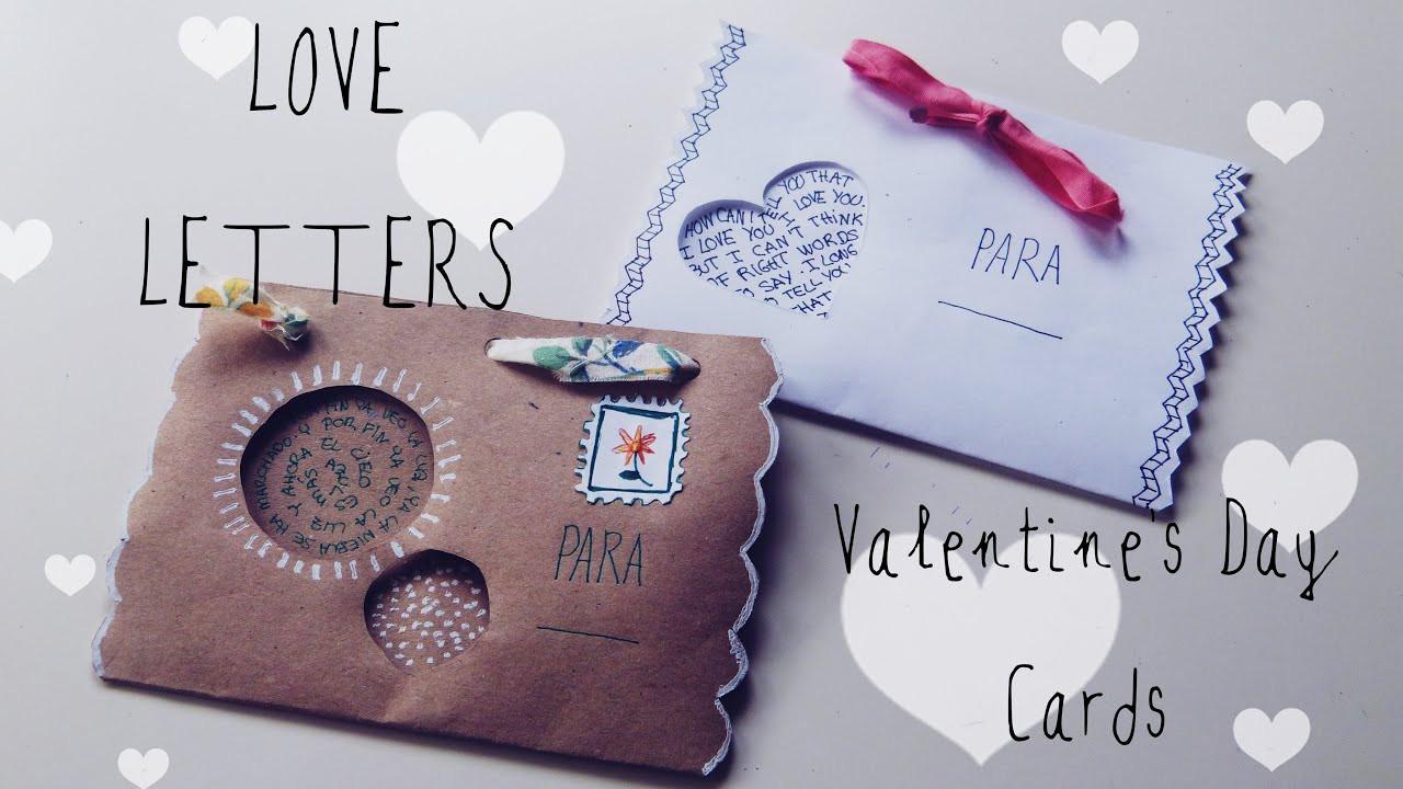 Cute DIY Gifts For Boyfriend  How to make cute envelopes DIY ts for boyfriend