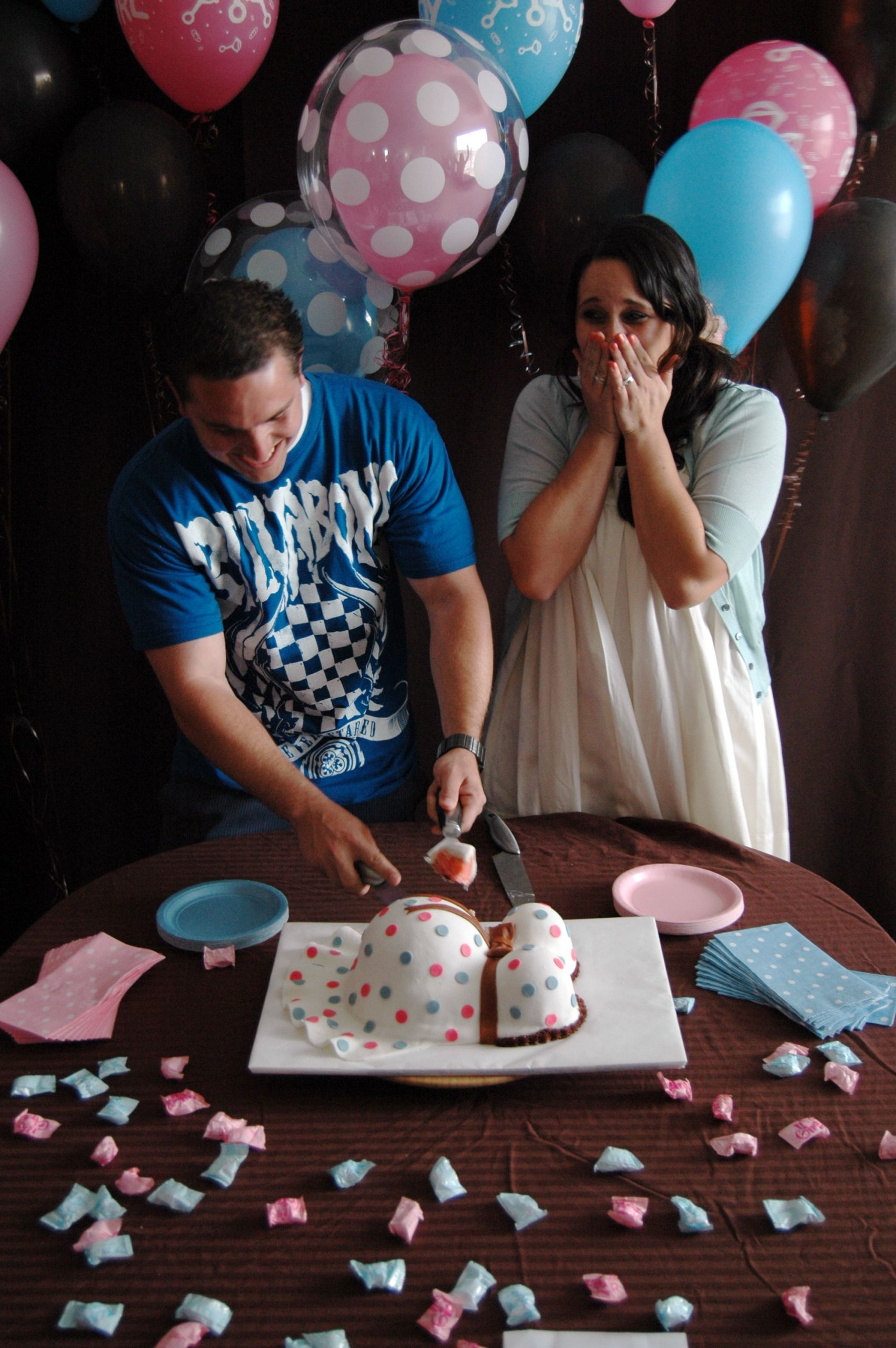 Cute Gender Reveal Party Ideas  Gender Reveal Party Part II