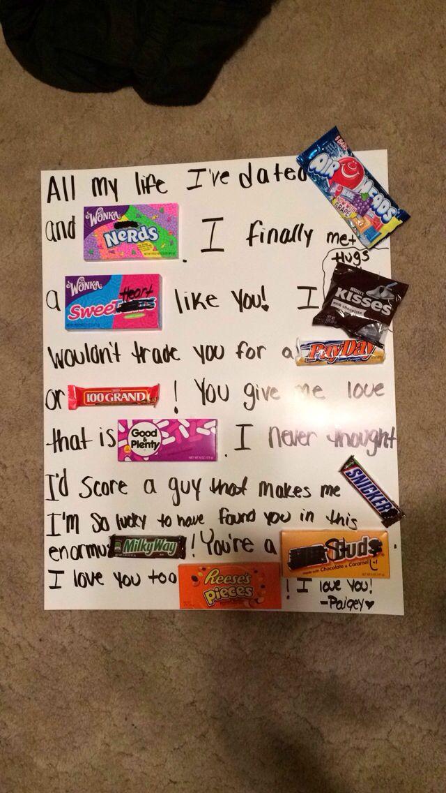 Cute Gift Ideas For Boyfriend  Pin by Nicola MacMillan on Boyfriend Gifts