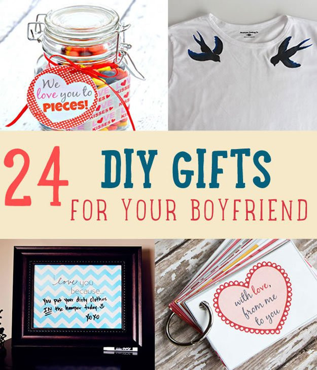 Cute Gift Ideas For Boyfriend  24 DIY Gifts For Your Boyfriend