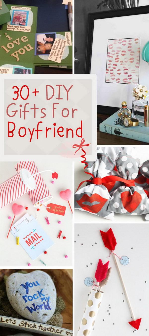 Cute Gift Ideas For Boyfriend  30 DIY Gifts For Boyfriend 2017