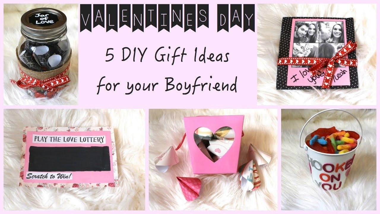 Cute Gift Ideas For Boyfriend  5 DIY Gift Ideas for Your Boyfriend