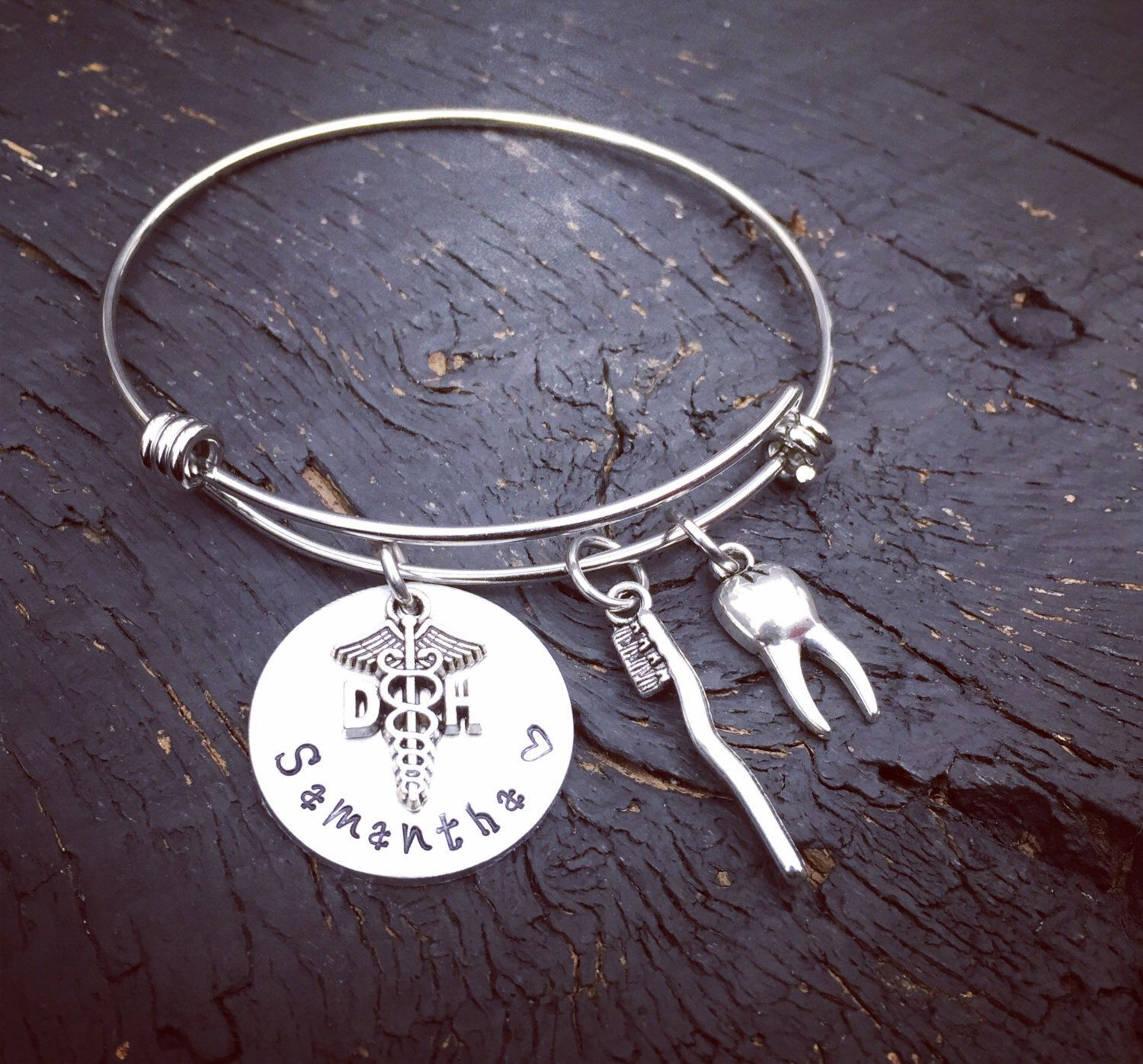 Dental School Graduation Gift Ideas For Her  Pin by Secret Hill Studio on Medical & Awareness Jewelry