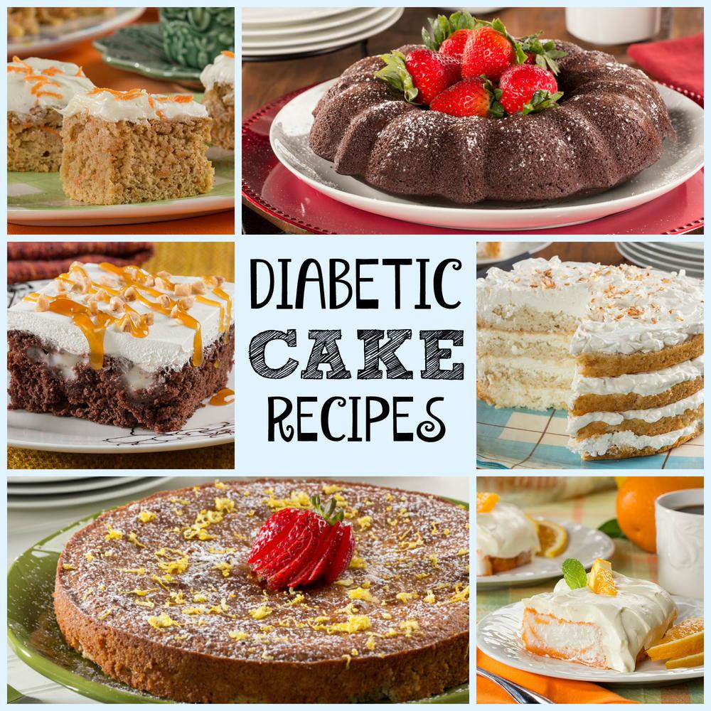 Diabetic Foods Recipes  Diabetic Cake Recipes Healthy Cake Recipes for Every