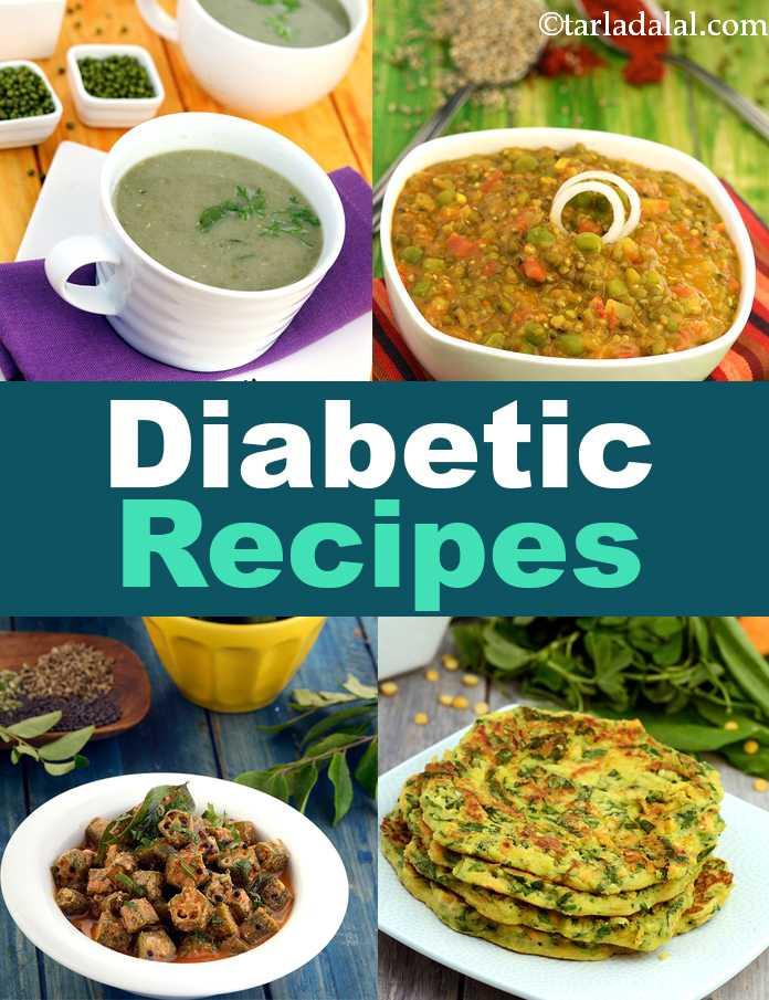 Diabetic Foods Recipes  Diabetic Recipes 300 Indian Diabetic Recipes Tarladalal
