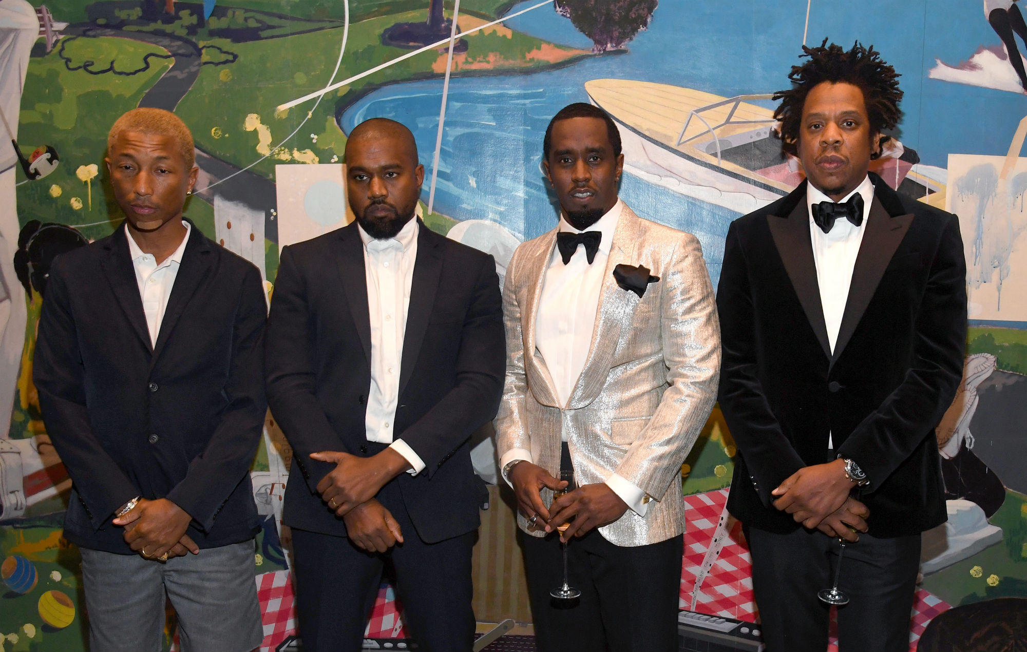 Diddy Birthday Party  Diddy shows off extravagant 50th birthday party in new video