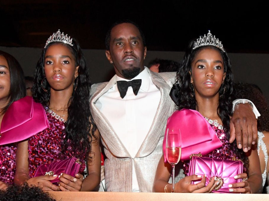 Diddy Birthday Party  Diddy's Star Studded Birthday Party Was Nothing But Black