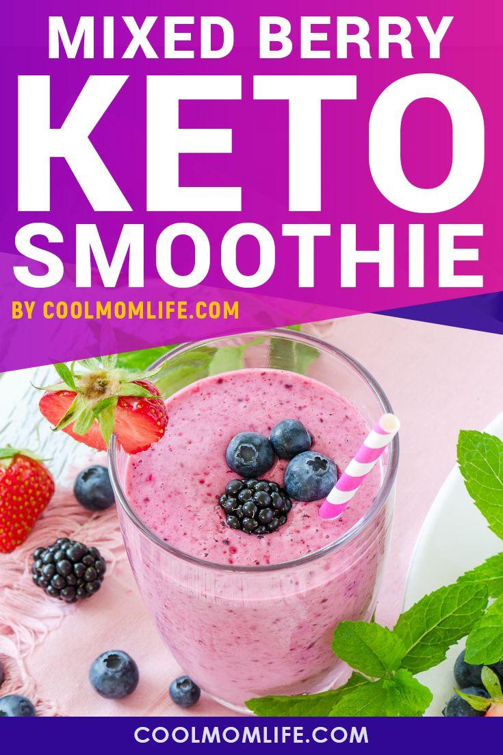 Diet Smoothie Recipes  Keto Berry Smoothie Recipe