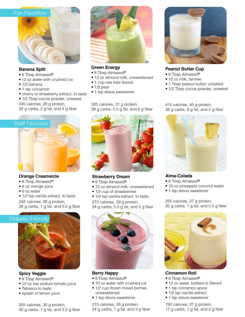 Diet Smoothie Recipes  Almased Review Read Before Buying