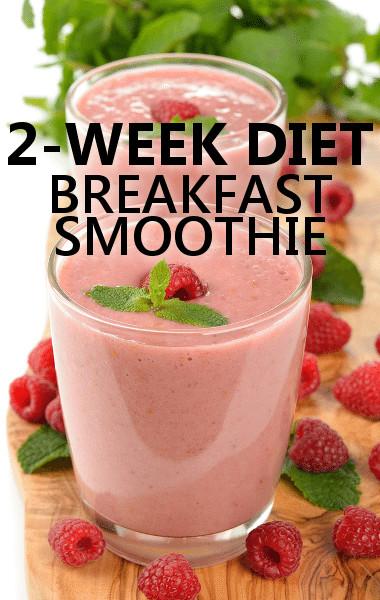 Diet Smoothie Recipes  Dr Oz 2 Week Weight Loss Diet Food Plan & Breakfast