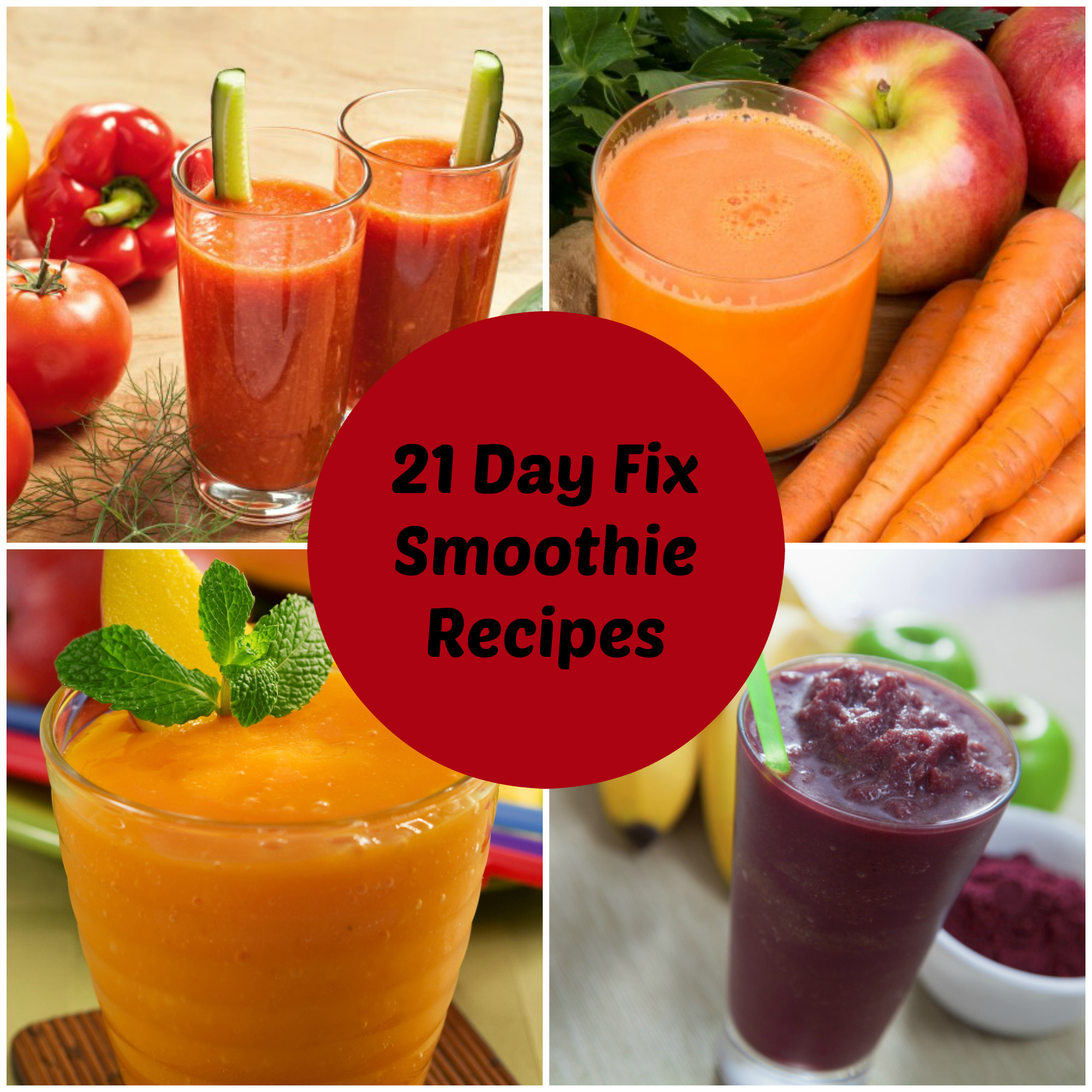 Diet Smoothie Recipes  How to Make Smoothies for the 21 Day Fix All Nutribullet