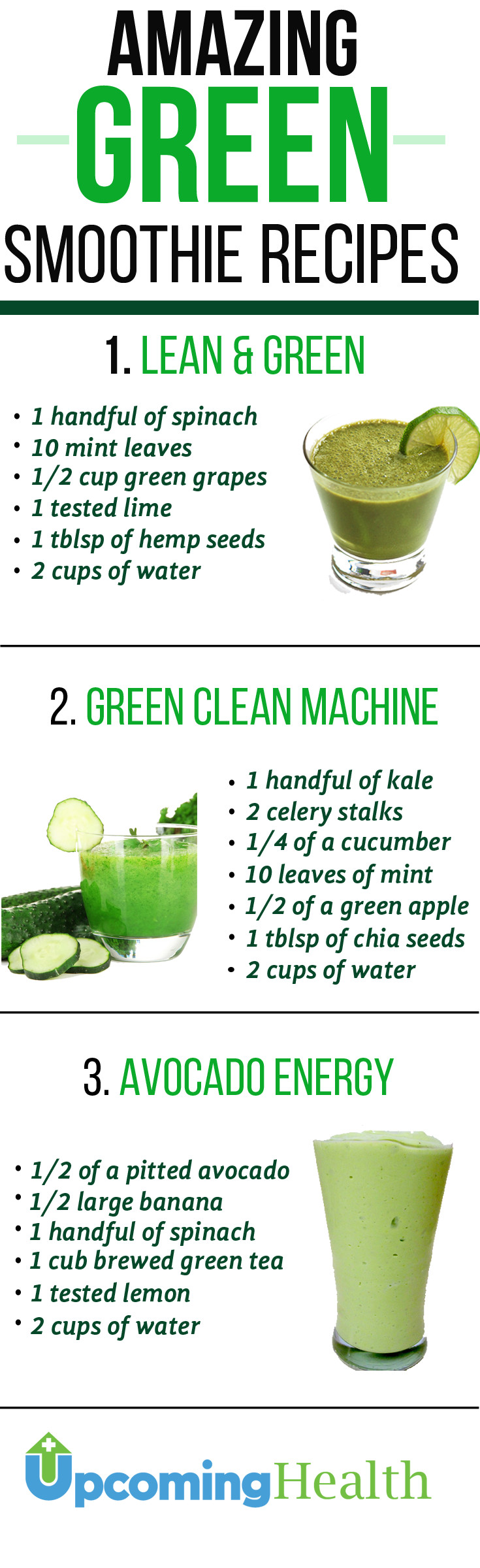 Diet Smoothie Recipes  Green Smoothies Will Revolutionize Your Health