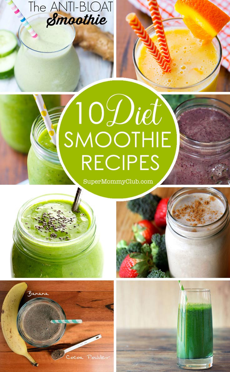 Diet Smoothie Recipes  Diet Smoothie Recipes to Help You Slim Down for Summer