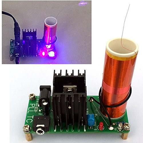 Dikavs DIY Mini Music Tesla Coil Kit  DIKAVS DIY Mini Tesla Coil Kit 15W Mini Music Tesla Coil