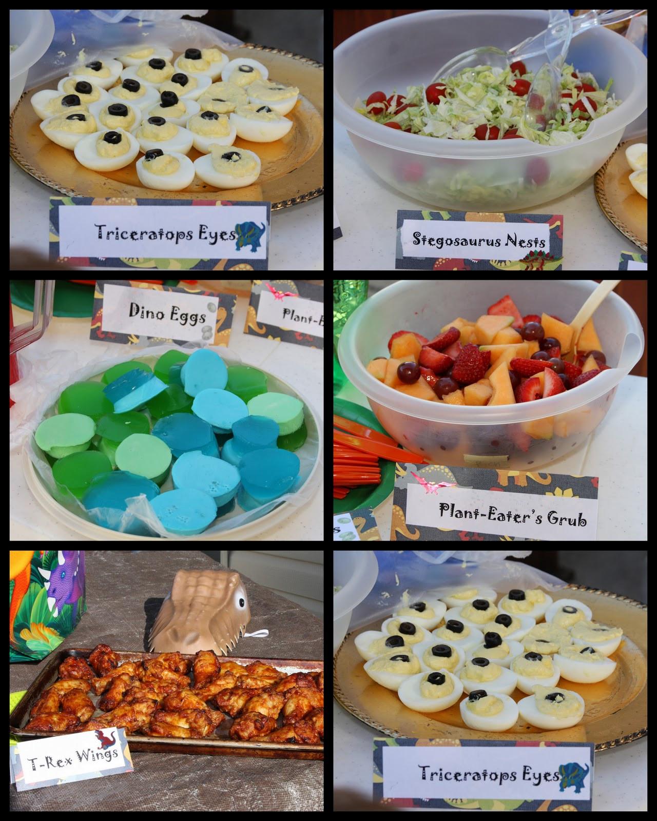 Dinosaur Food Ideas For Birthday Party  Creative Juices Dinosaur party