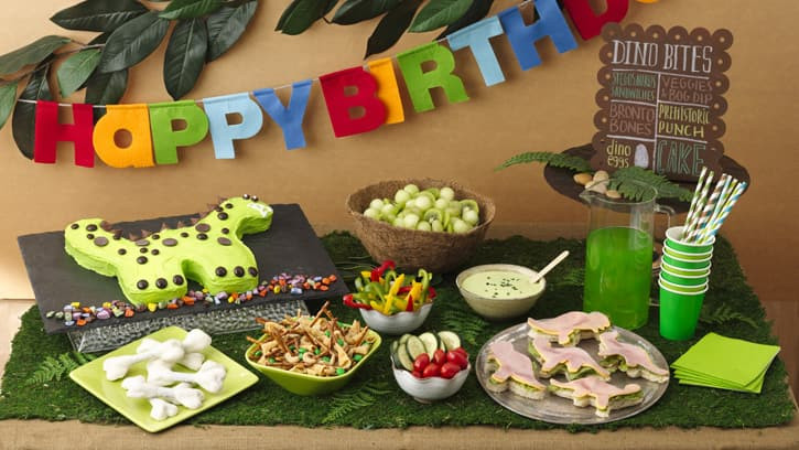 Dinosaur Food Ideas For Birthday Party  Dinosaur Party Foods BettyCrocker