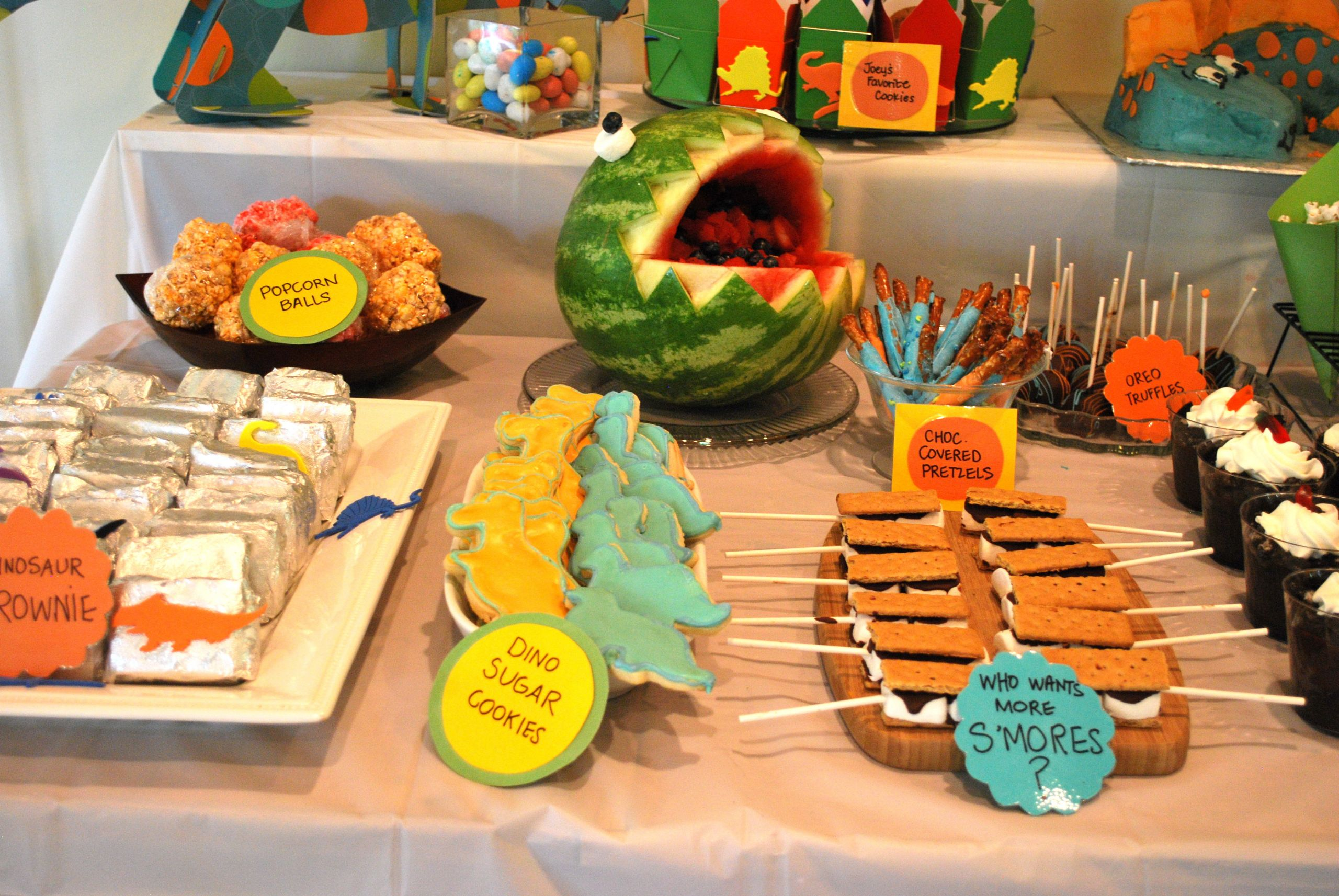 Dinosaur Food Ideas For Birthday Party  Dinosaur Themed Birthday Party