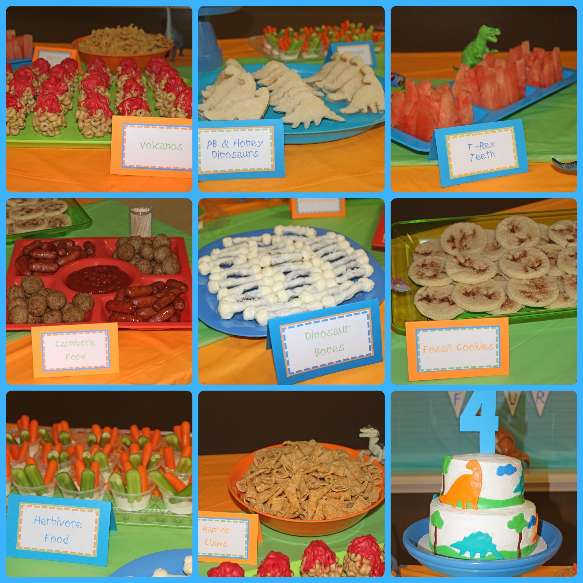 Dinosaur Food Ideas For Birthday Party  dinosaur party food