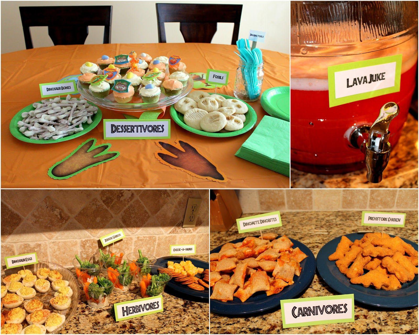 Dinosaur Food Ideas For Birthday Party  The 25 best Dinosaur train party ideas on Pinterest