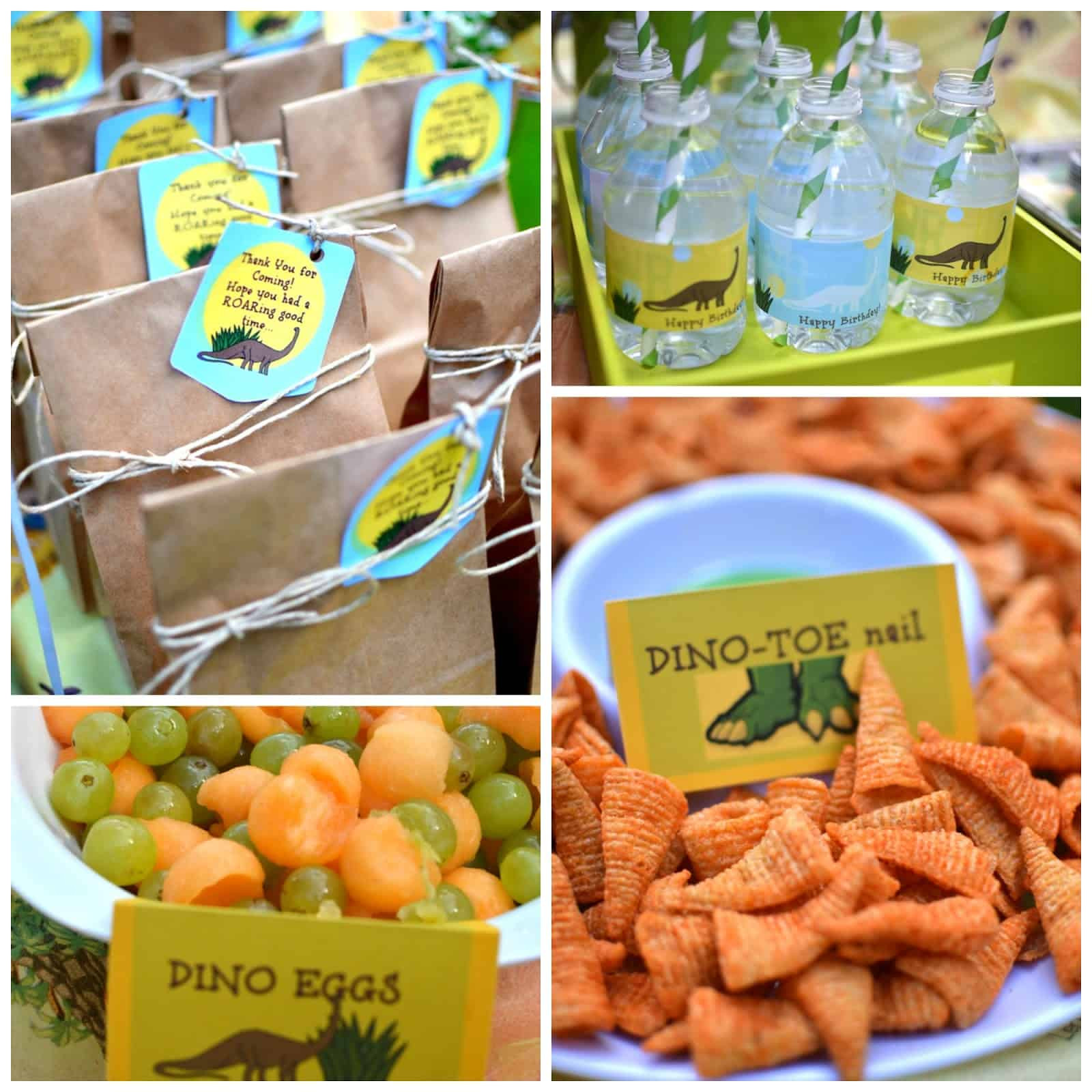 Dinosaur Food Ideas For Birthday Party  Party with dinosaurs Dinosaur themed birthday party