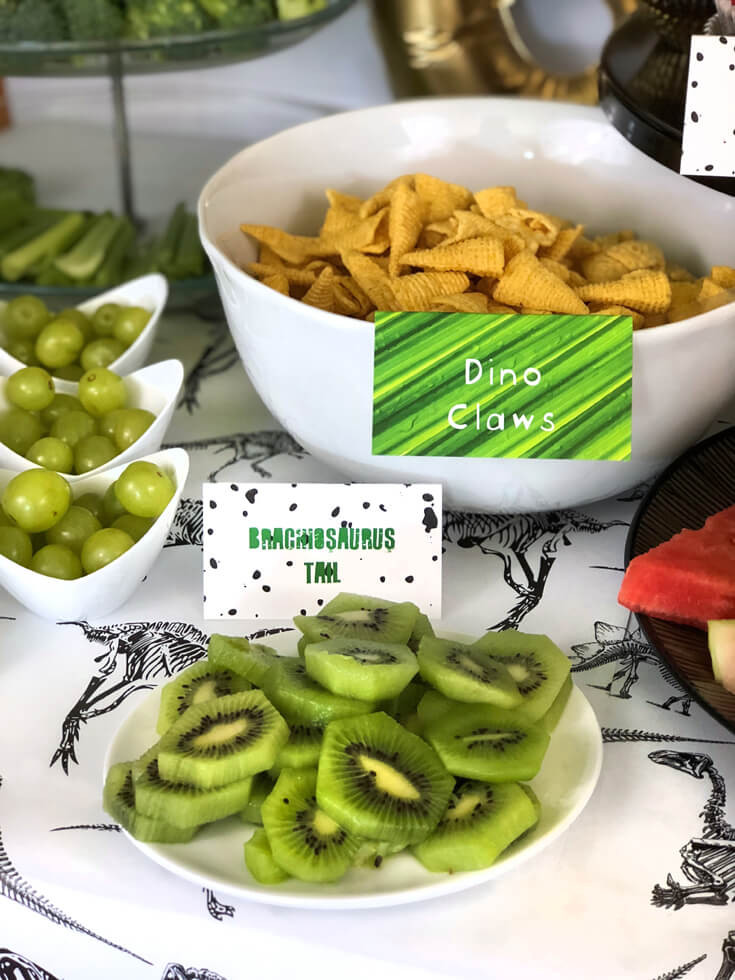Dinosaur Food Ideas For Birthday Party  Prehistoric Dinosaur Birthday Party Ideas Parties With A