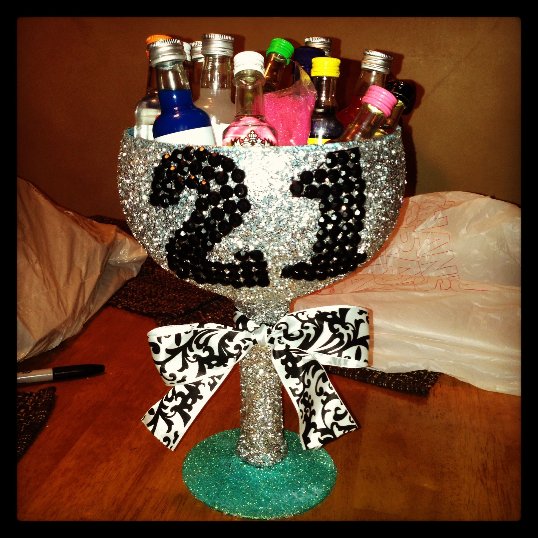 DIY 21St Birthday Gifts  DIY 21st Birthday Cup