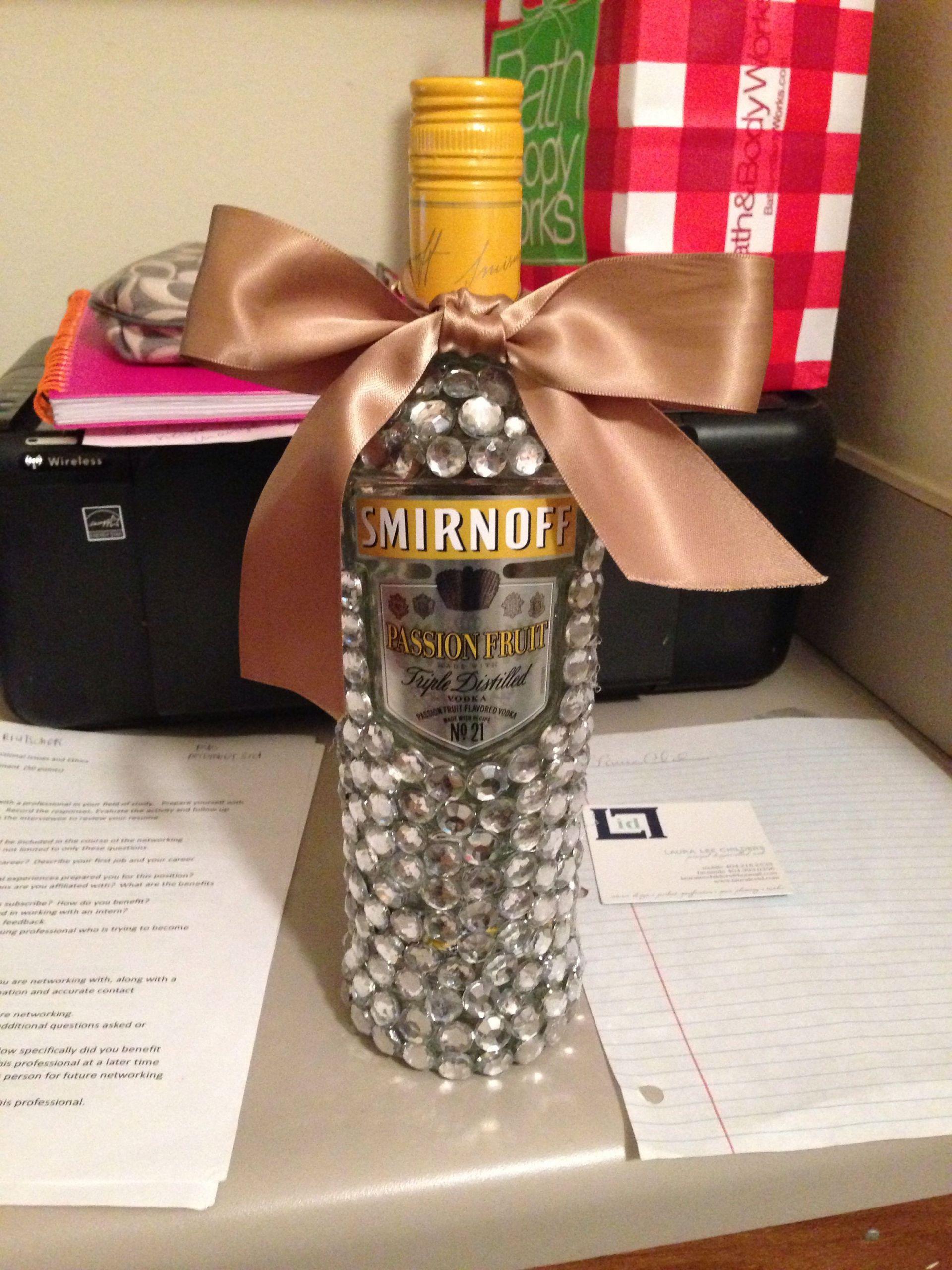 DIY 21St Birthday Gifts  DIY 21st Birthday Gift