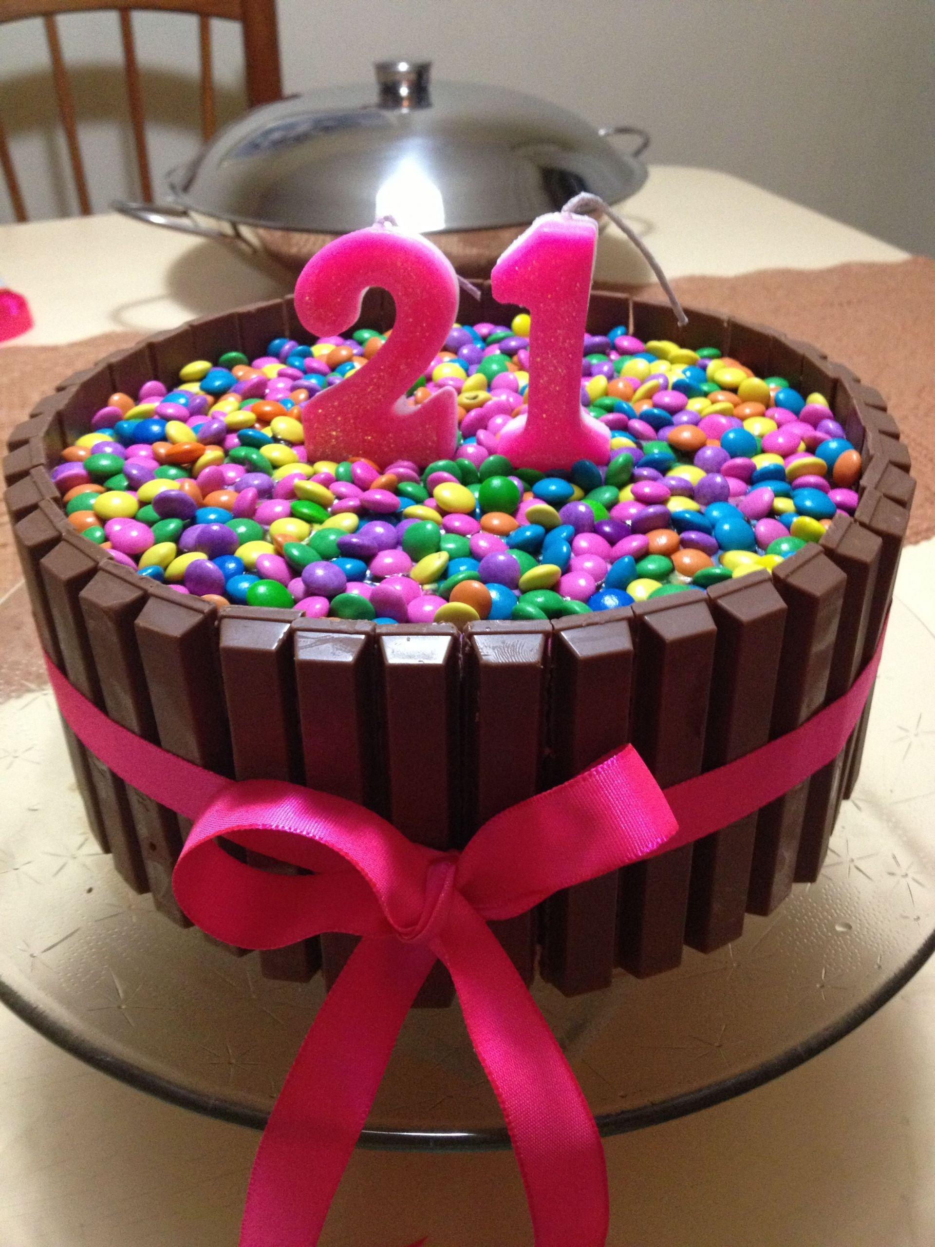 DIY 21St Birthday Gifts  Homemade 21st birthday cake Yummy